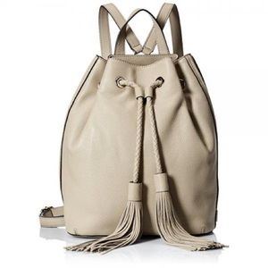 Rebecca Minkoff Isobel khaki Drawstring backpack